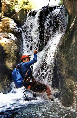 canyoning llech randonnée aquatique dans les Pyrénées Catalanes