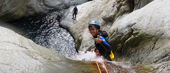 Canyoning a Argeles